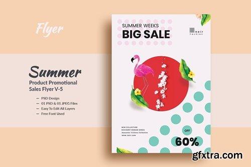 Summer Product Promotional Sales Flyer V-5
