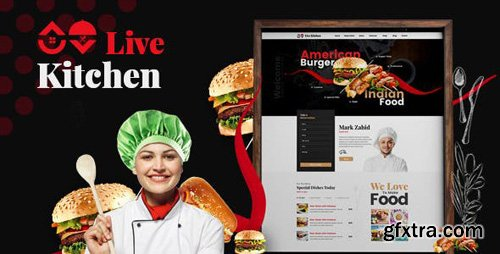 ThemeForest - Livekitchen v2.0 - Restaurant Cafe WordPress Theme - 20084034