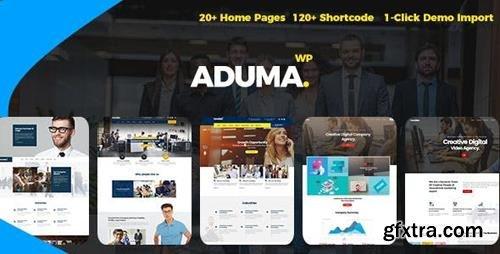 ThemeForest - Aduma v1.2 - Consulting, Finance, Business WordPress Theme - 21293424