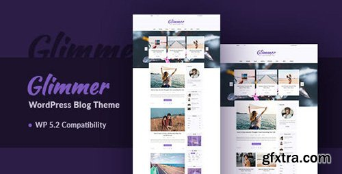 ThemeForest - Glimmer v3.0 - A Responsive WordPress Blog Theme - 12885088