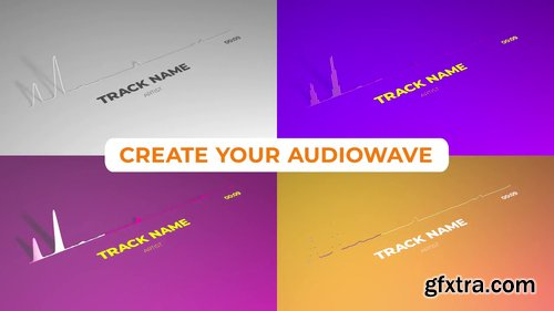 Minimalistic Clean Audio Visualizer 227418