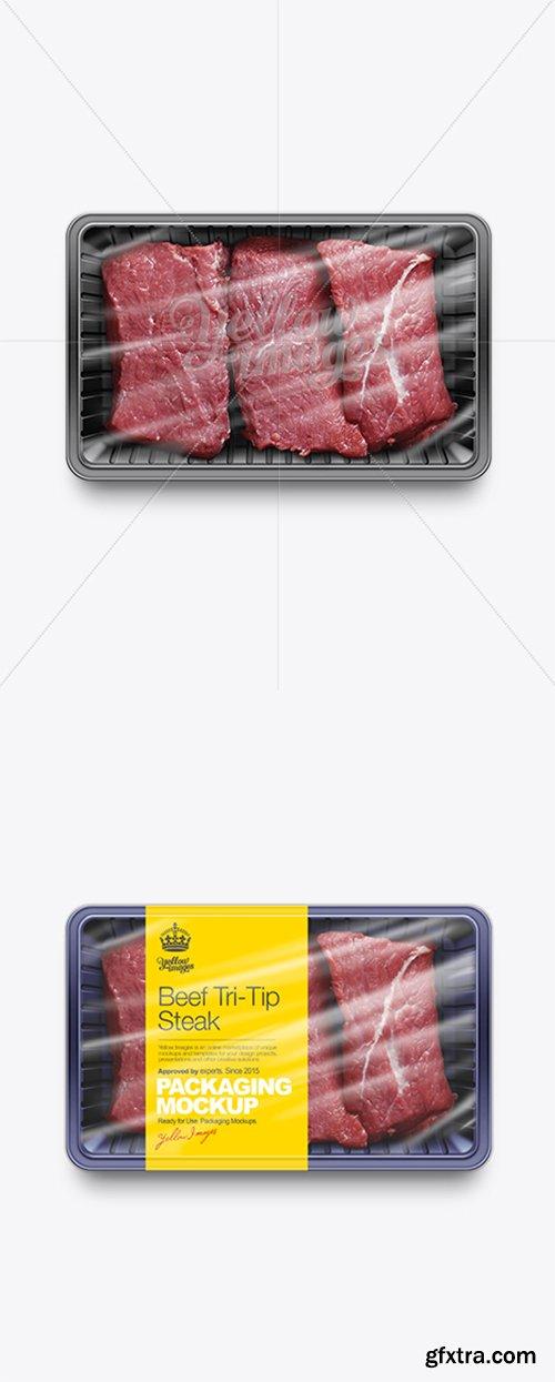 Sliced Beef Tray Mockup 10694