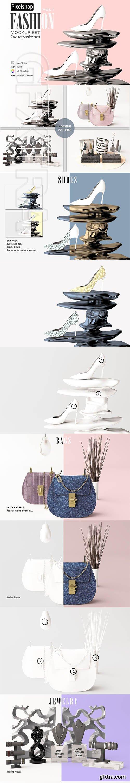 CreativeMarket - Fashion Product Mockup Set 3749544