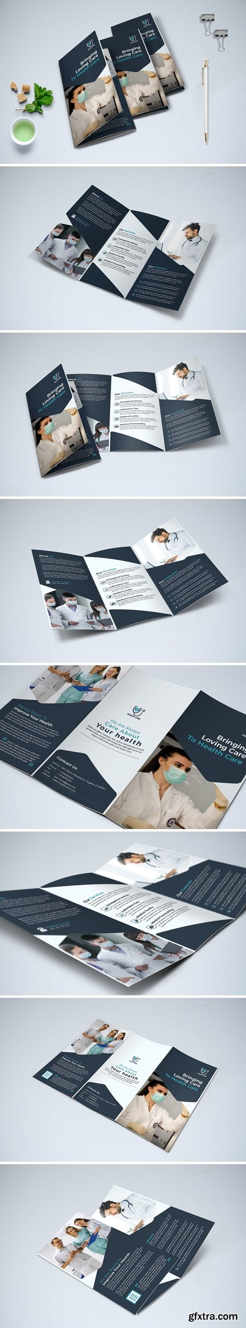 Trifold Medical Brochure