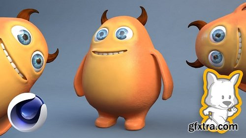 3D Character Creation in Cinema 4D: Modeling a Happy Monster