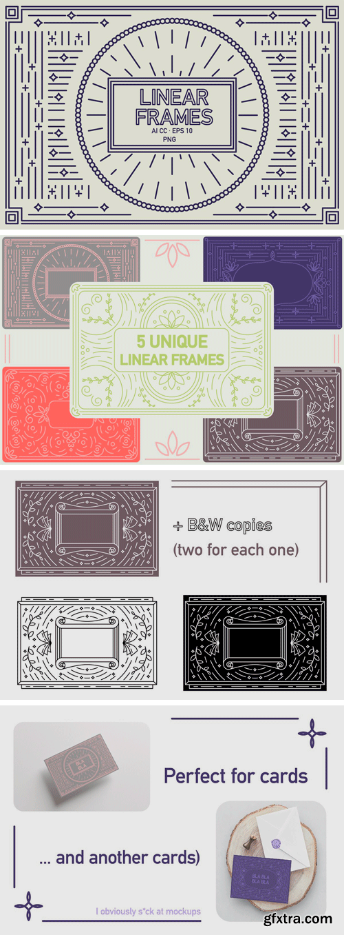 CM - Linear Frames Set 3511445