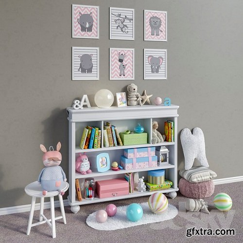 Legacy Classic furniture, accessories, decor and toys set 1