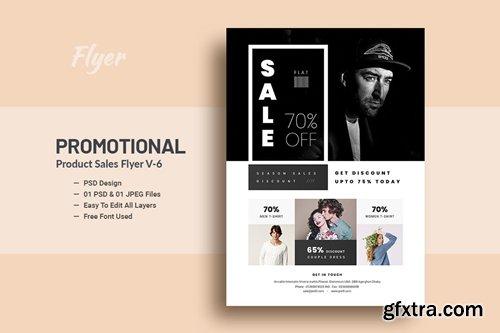 Promotional Product Sales Flyer V-6