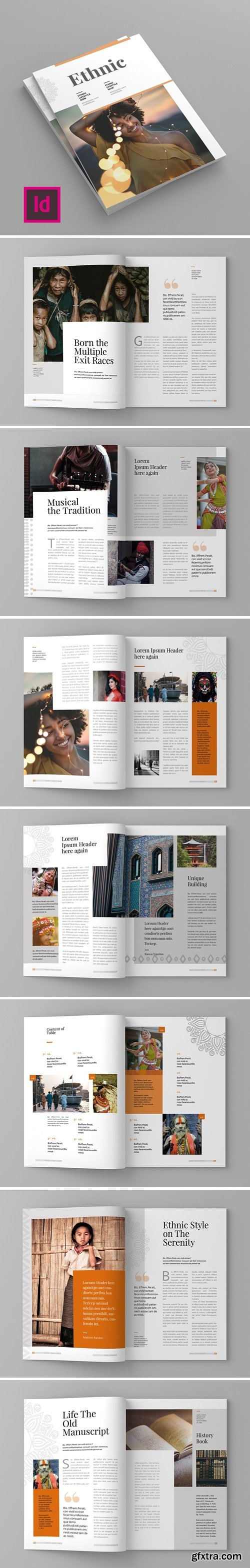 Ethnic Magazine Template