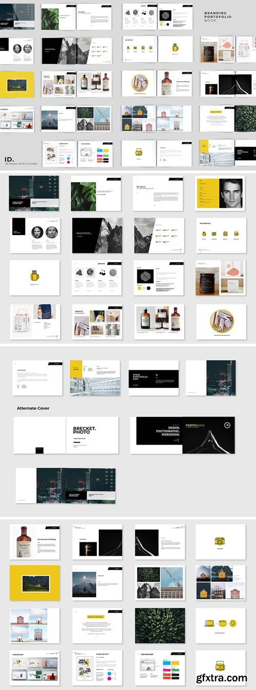 36 Pages Brands & Portofolio Book