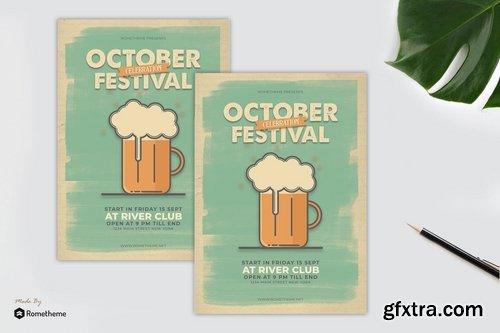 October Festival Flyer vol. 01
