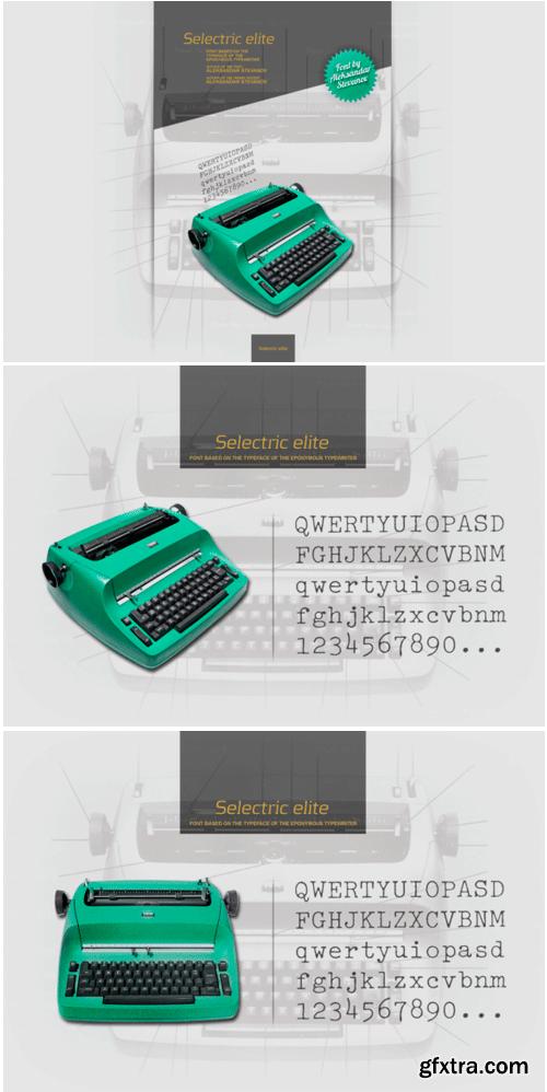 Selectric Elite Font