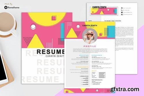 Clean Resume vol. 27