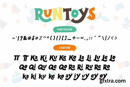 Runtoys Font