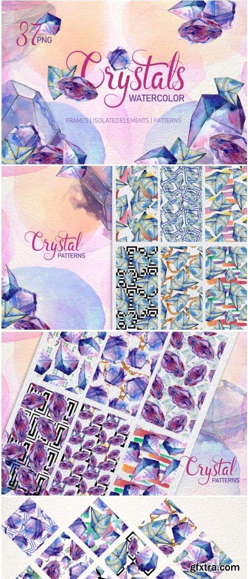 Crystal Blue Dreams Come True Watercolor 1400330
