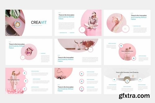Creavit - Powerpoint Google Slides and Keynote Templates