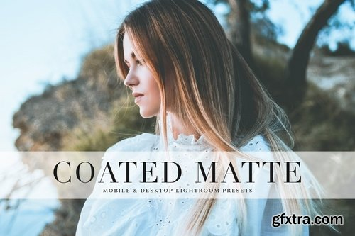 Coated Matte Mobile & Desktop Lightroom Presets