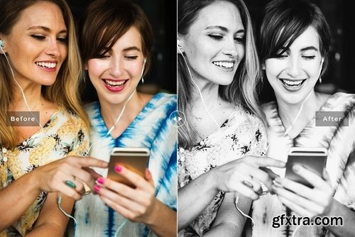 Friends Forever Mobile & Desktop Lightroom Presets
