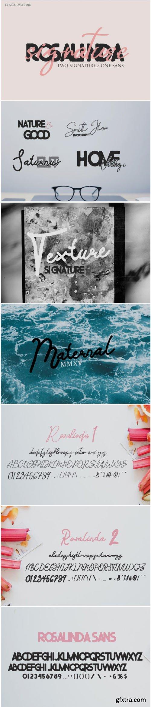 Rosalinda Trio Font