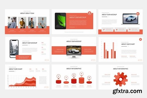Falfe - Powerpoint Google Slides and Keynote Templates