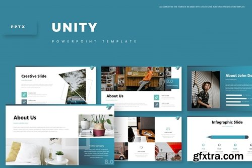 Unity Powerpoint, Keynote and Google Slides Templates