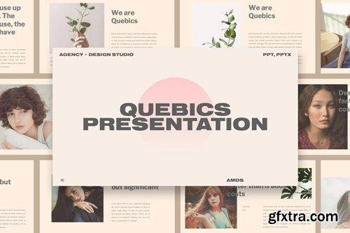 Quebic - Design Studio Presentation Template