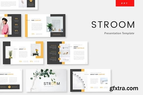 Stroom - Creative Powerpoint, Keynote and Google Slides Templates