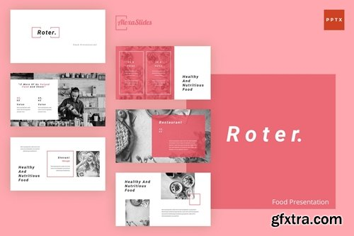Roter - Food Powerpoint, Keynote and Google Slides Templates
