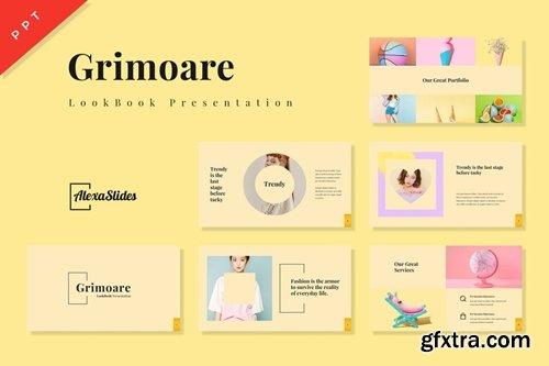 Grimoare - Lookbook Powerpoint, Keynote and Google Slides Templates