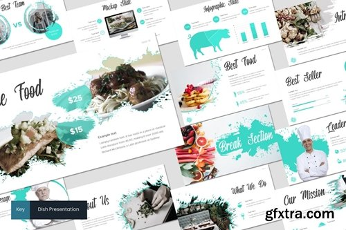Dish Powerpoint, Keynote and Google Slides Templates