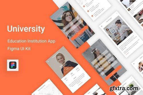 University - Education & Learning Figma UI Kit