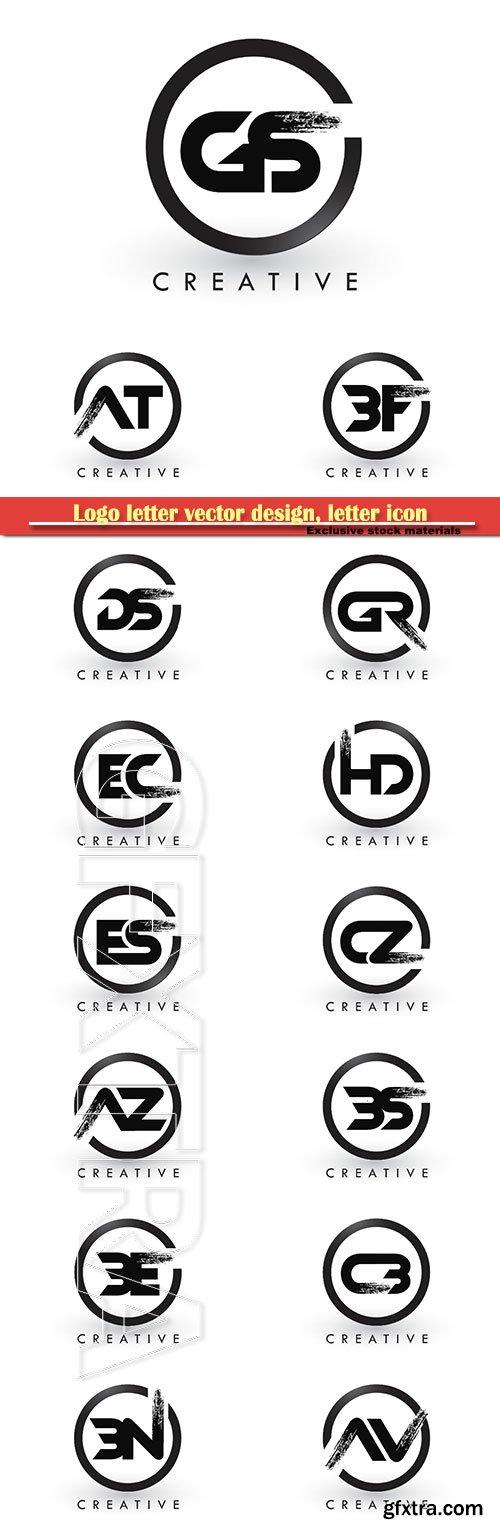 Logo letter vector design, letter icon # 20