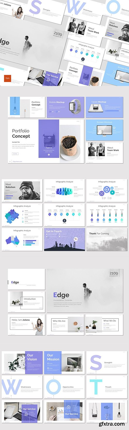 Edge - Powerpoint, Keynote and Google Slides Templates