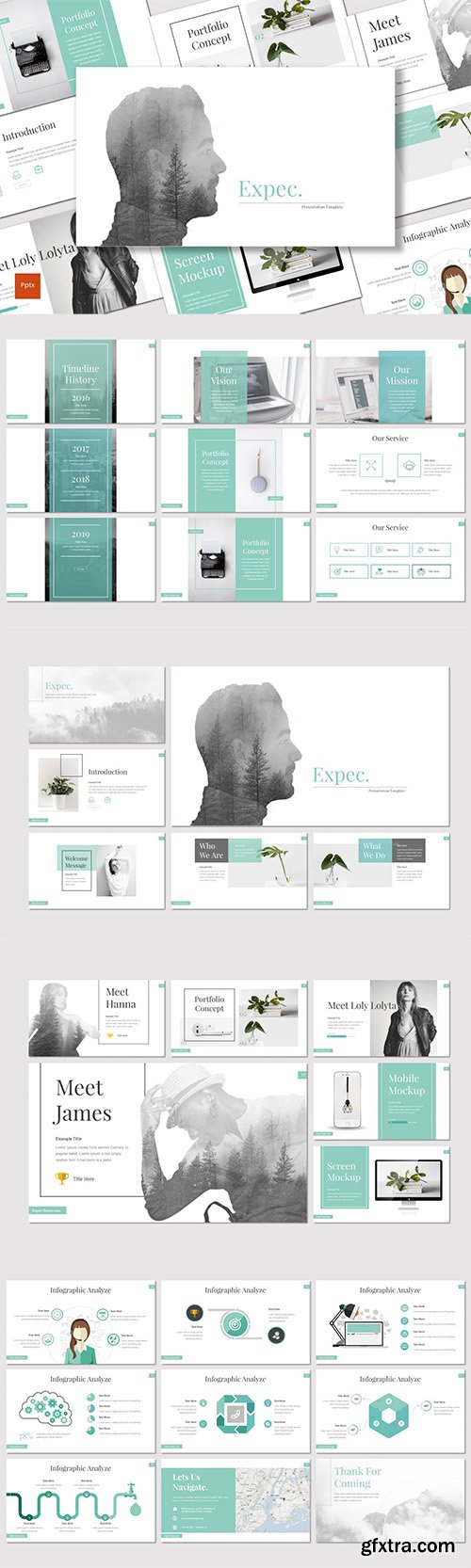 Expec - Powerpoint, Keynote and Google Slides Templates