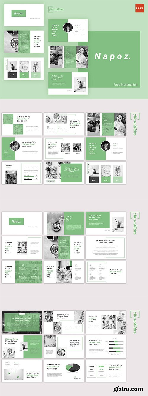 Napoz - Food Powerpoint, Keynote and Google Slides Templates