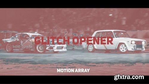 MotionArray Glitch Opener 235700