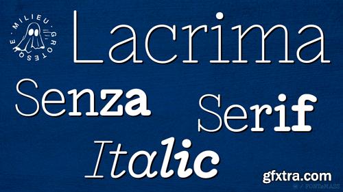 Lacrima Font Family