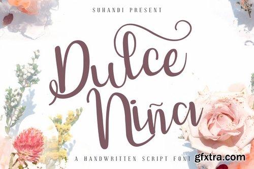 Dulce Ni?a Script Font