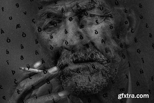 CM - Quentin Pro Typeface + Webfonts 3792176