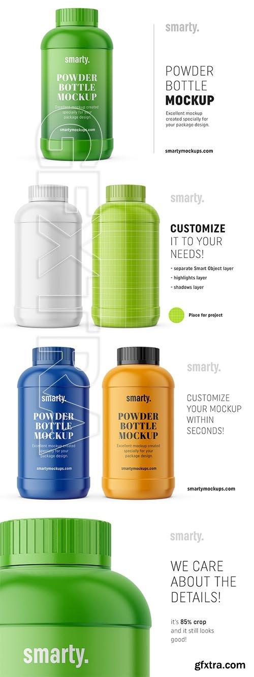 CreativeMarket - Household bottle mockup 3752065