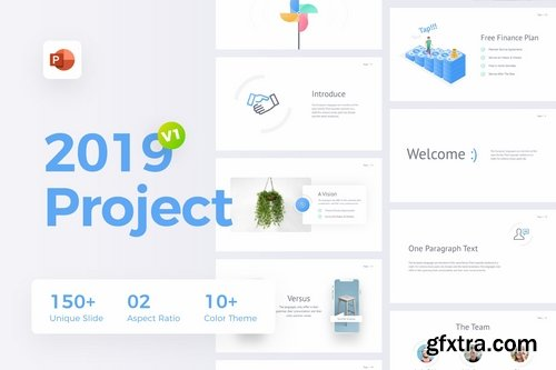 2019 Project – Multipurpose Powerpoint Templates