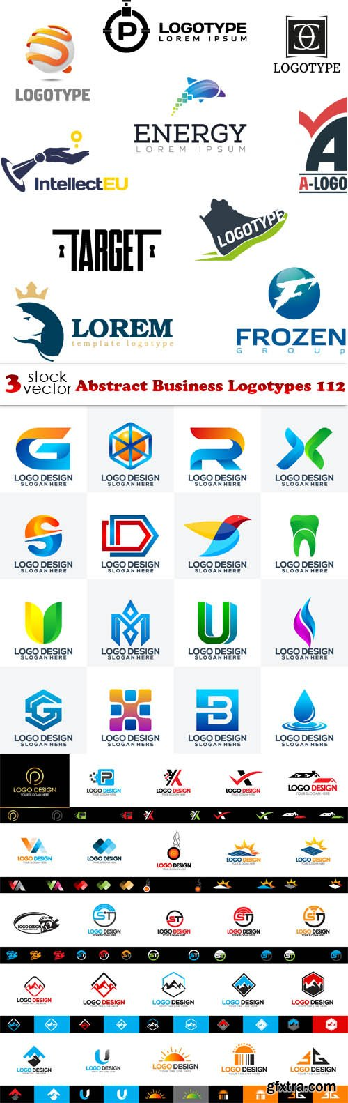 Vectors - Abstract Business Logotypes 112