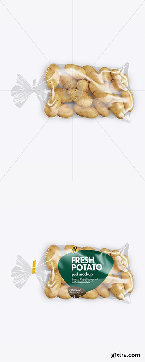 Pack with Potato Mockup 43383
