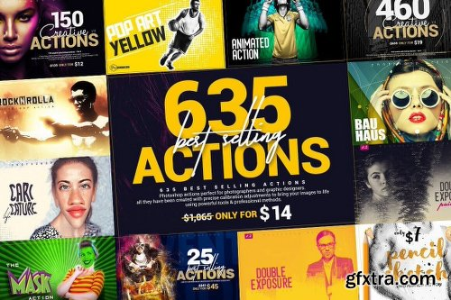InkyDeals 635 Best Selling Actions Bundle