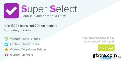 CodeCanyon - Super Selection Form Field for NEX-Forms v7.5 - 23748570