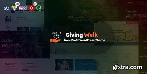 ThemeForest - GivingWalk v1.0.1 - Multipurpose Nonprofit WordPress Theme - 23068875