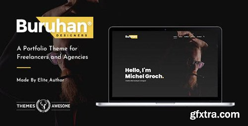 ThemeForest - Buruhan v1.4 - A Portfolio Theme for Freelancers and Agencies - 21113623