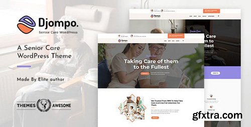 ThemeForest - Djompo v1.2 - Senior Care WordPress Theme - 22627752