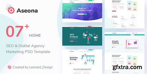 ThemeForest - SeoMoz v1.0 - SEO Digital Marketing Template PSD - 23528095