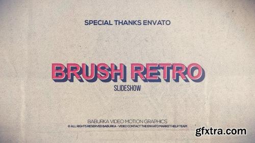 VideoHive Brush Retro Slideshow 20627077